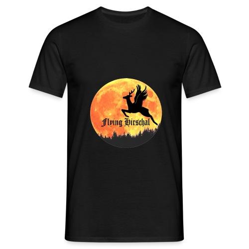 flying hirschal mond - Männer T-Shirt