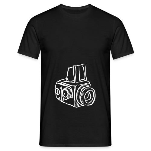 Kamera B weiß - Männer T-Shirt