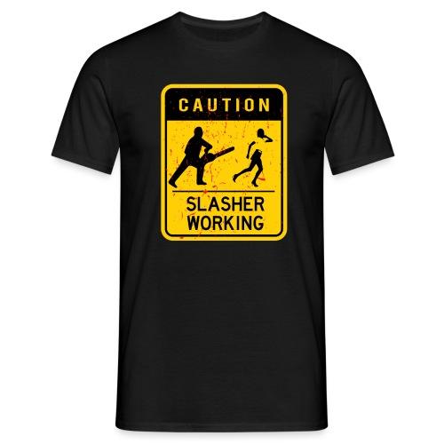 Slasher working - T-shirt Homme