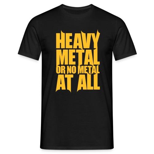 heavymetal - Miesten t-paita