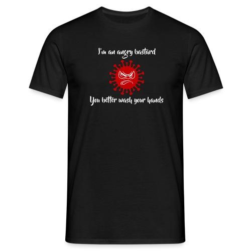 angrybastard - T-shirt herr