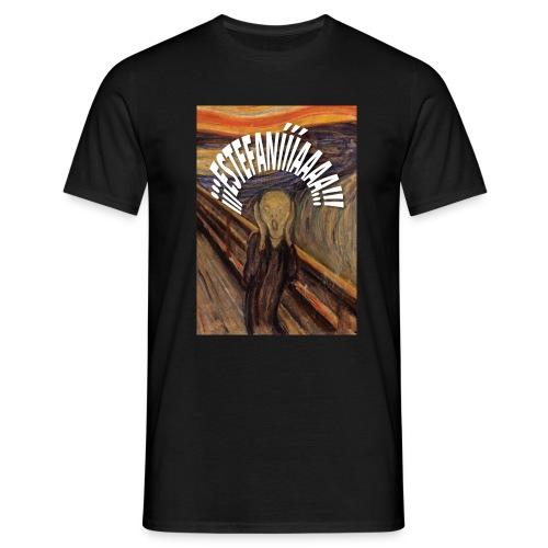 Estefanía El Grito - Camiseta hombre