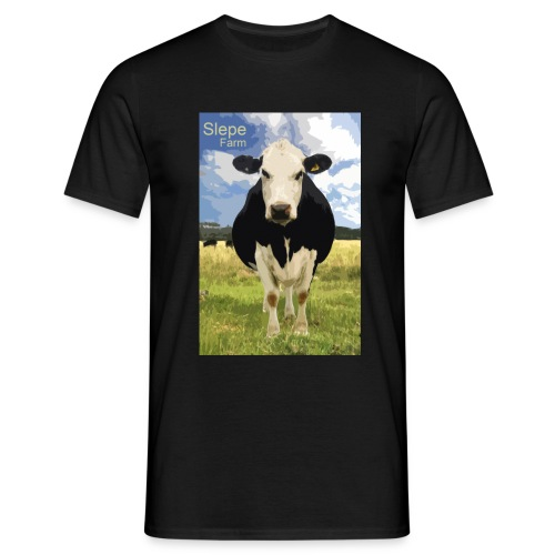 cow slepe farm - Men's T-Shirt