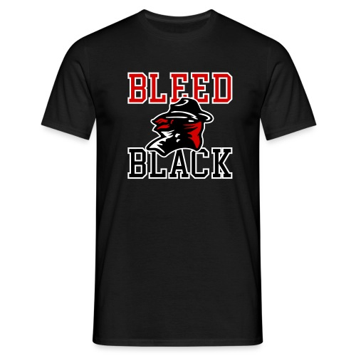 Bleed Black - Männer T-Shirt