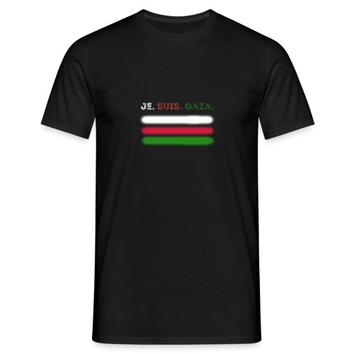 Je Suis Gaza - Herre-T-shirt