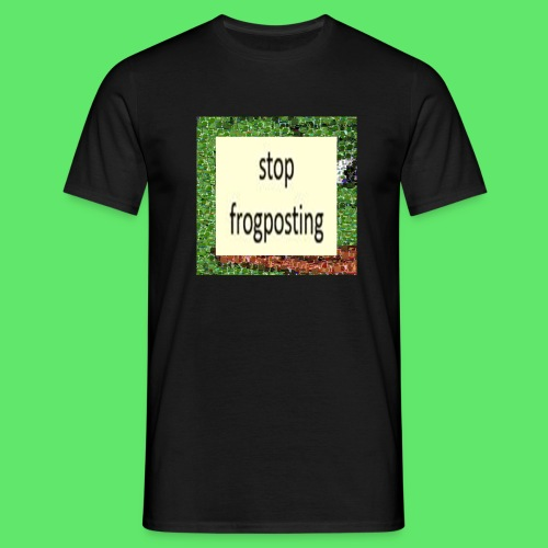 Frogposter - Men's T-Shirt