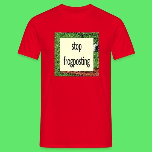 Frogposter - Men's T-Shirt