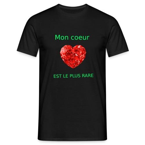 Mon coeur est le plus rare - T-shirt Homme