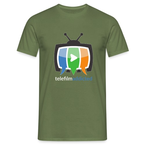 Logo Telefilm Addicted - Maglietta da uomo