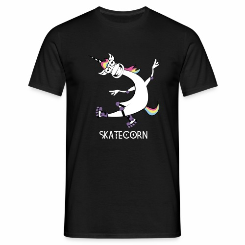 Skatecorn - Männer T-Shirt