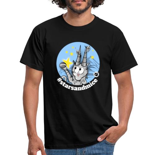 Astrokatze Steinbock - Männer T-Shirt