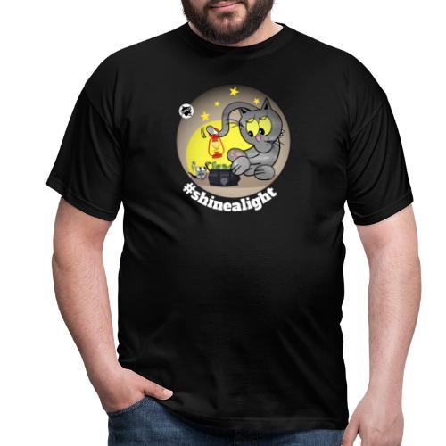 Astrokatze Skorpion - Männer T-Shirt