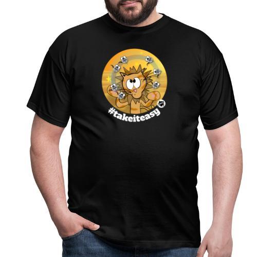 Astrokatze Löwe - Männer T-Shirt