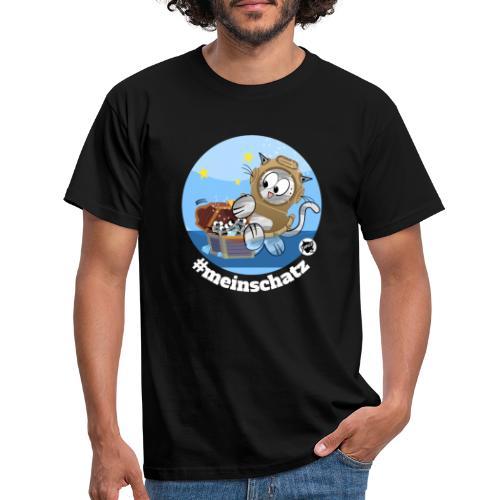 Astrokatze Wassermann - Männer T-Shirt