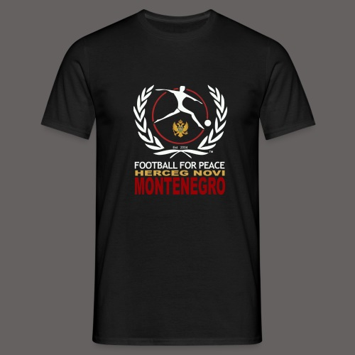 football for peace New Lo - Men's T-Shirt