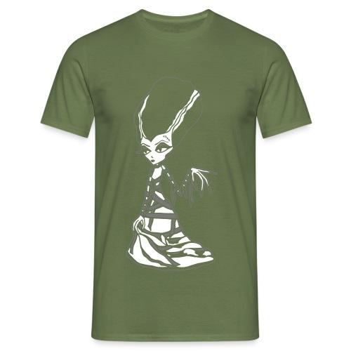 Franky Bride Black - Men's T-Shirt