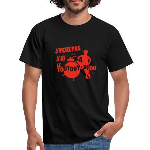 JPEUXPAS ROUGE - T-shirt Homme