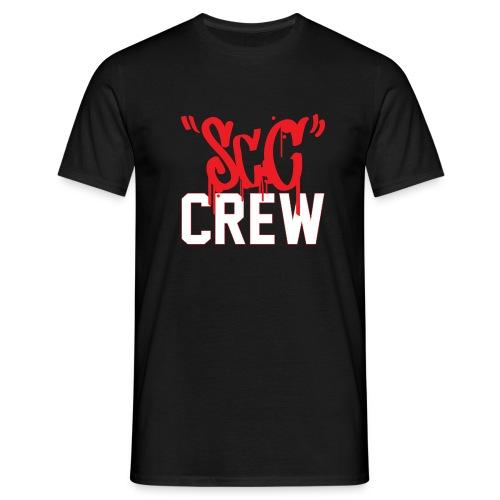 ScC CREW Logo Rood - Mannen T-shirt