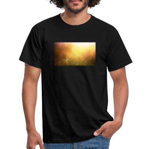Sunshine view - Männer T-Shirt