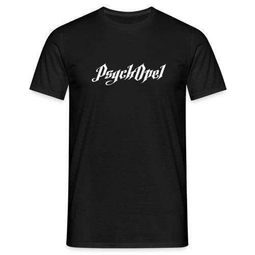PsychOpel weiß png - Männer T-Shirt