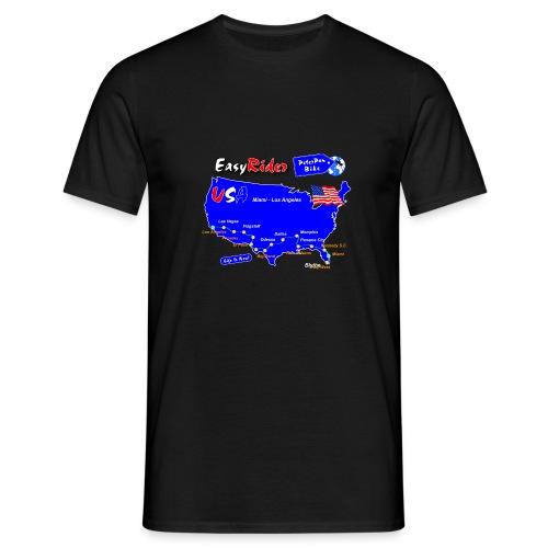 EasyRider-01 - Miesten t-paita