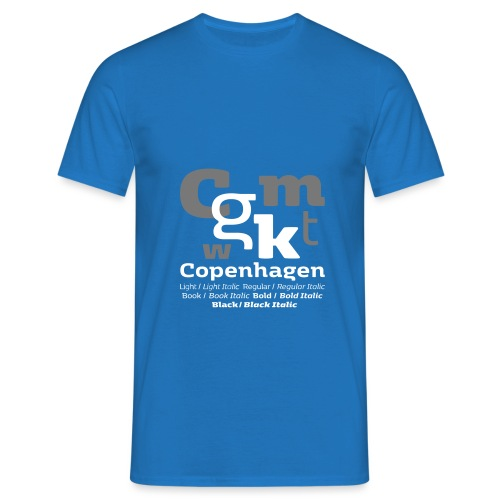 KBH Shirt - Herre-T-shirt
