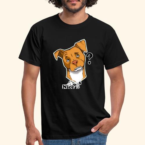 Nice Dogs pitbull 2 - Maglietta da uomo