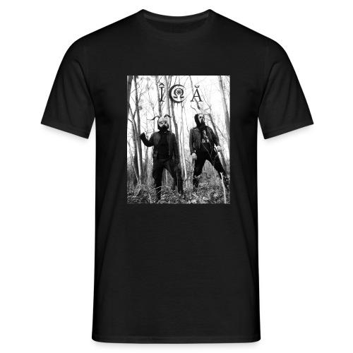 ICA Bandfoto 2019 - Männer T-Shirt
