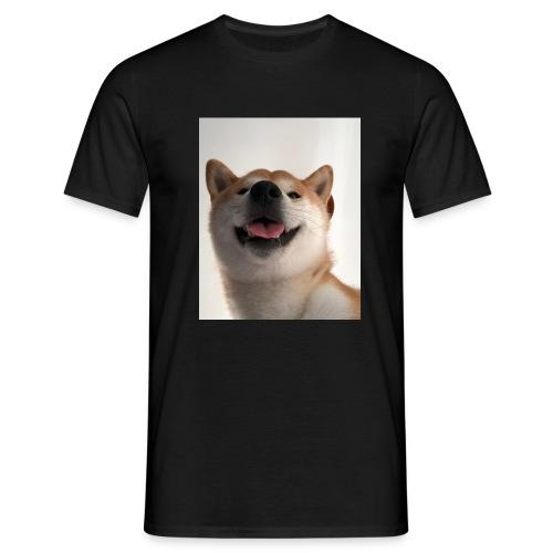 miły pies - Koszulka męska