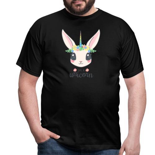 I am Unicorn - Männer T-Shirt