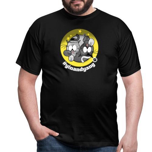 Astrokatze Zwillinge - Männer T-Shirt