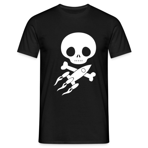 SpacePirates-Totenkopf - Männer T-Shirt