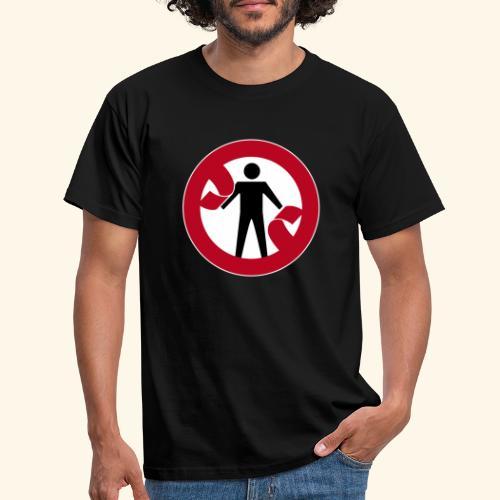 cut the red tape - Mannen T-shirt
