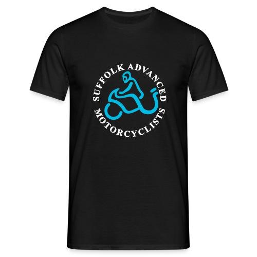 S.A.M. Logo for black - Men's T-Shirt