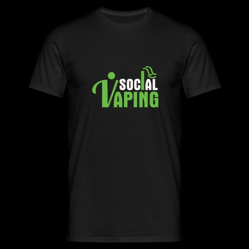 Social Vaping - Men's T-Shirt