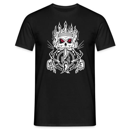 MCExtraprall_Skull - Männer T-Shirt