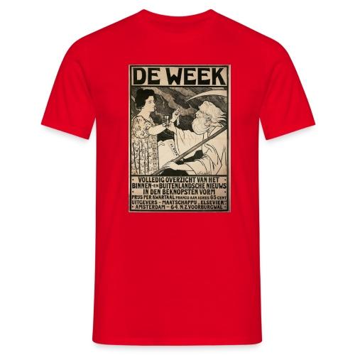 de week - Men's T-Shirt