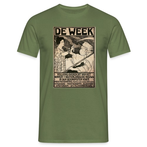 de week - Men's T-Shirt