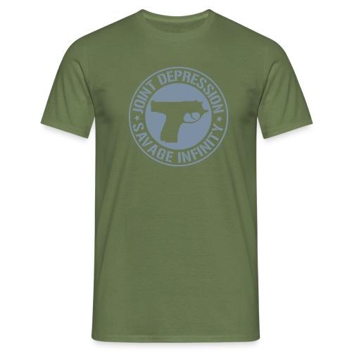 jd logo 11 2008 - Miesten t-paita