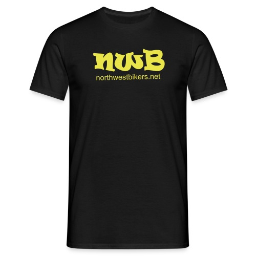 nwb logo3 - Men's T-Shirt