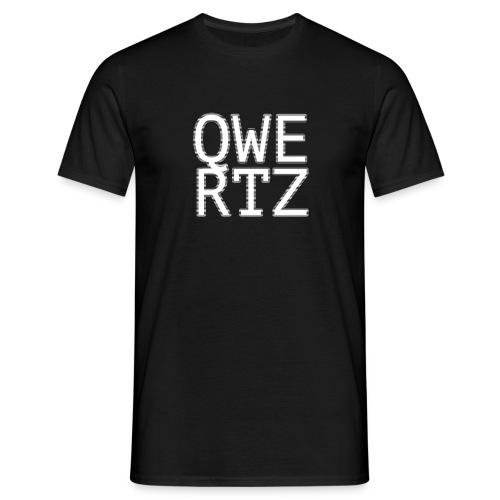 block qwertz - Männer T-Shirt