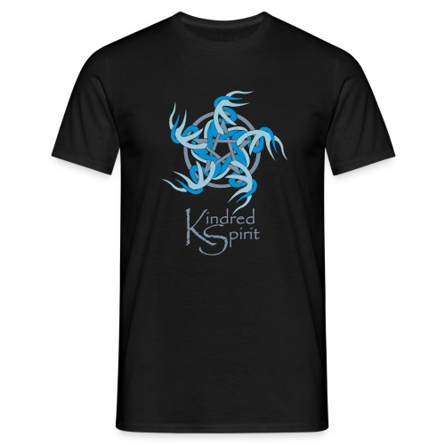 Kindred Spirit Symbol with Words - Men's T-Shirt