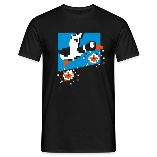 Duckhunt - Mannen T-shirt
