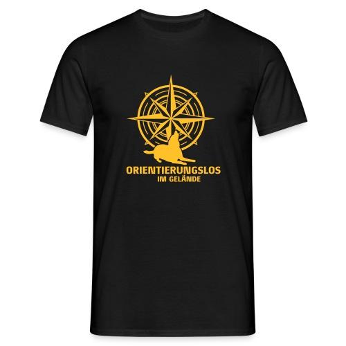 Orientierungslos Kompass - Männer T-Shirt