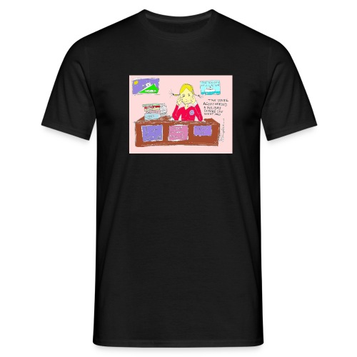 travelagentup - Men's T-Shirt