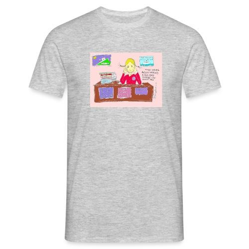 travelagentup - Men's T-Shirt