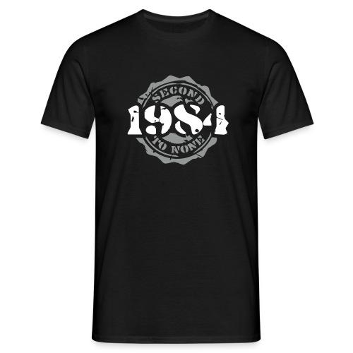 1984 Second to None - Männer T-Shirt