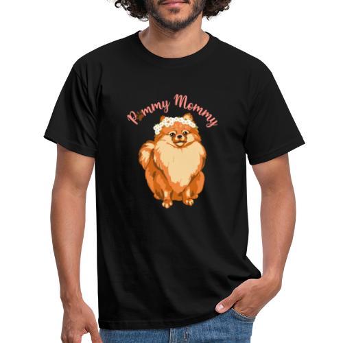 Pommy Mommy Pomeranian - T-shirt herr