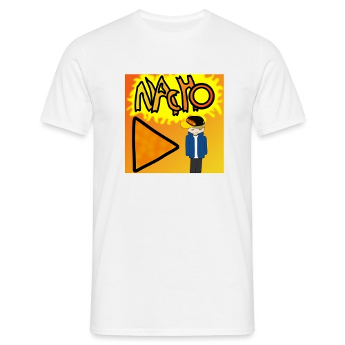 Nacho Title with Little guy - Men's T-Shirt