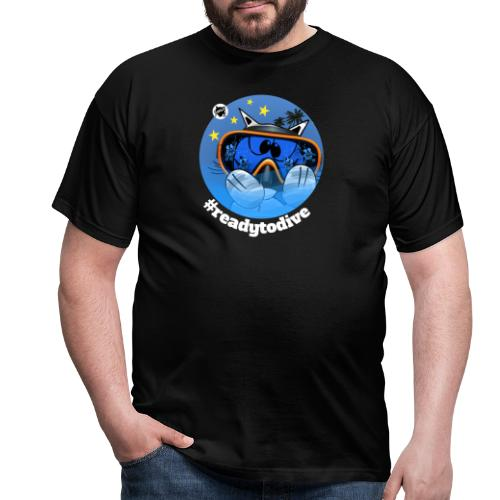Astrokatze Fisch - Männer T-Shirt